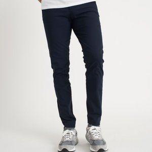 KIT & ACE Navy Blue Cotton Comfort Pants {PP37}